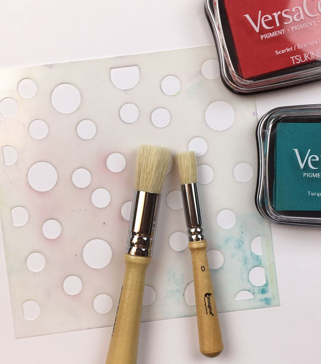 perfect for stenciling and stipple effects