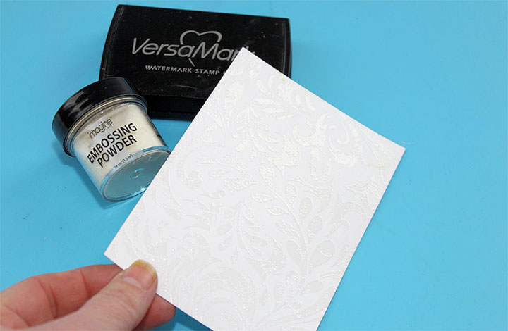 versamark embossing powder