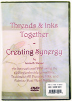 Threads and Inks Together DVD