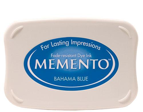 Memento Dye Ink Bahama Blue