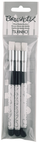 #2 Brushstix<br>Chisel Tip<br>3 piece pack