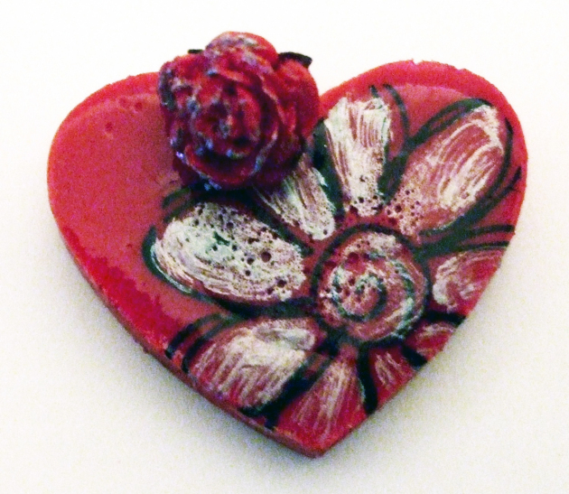 irRESISTible Red Heart Craft with Monterey Pine