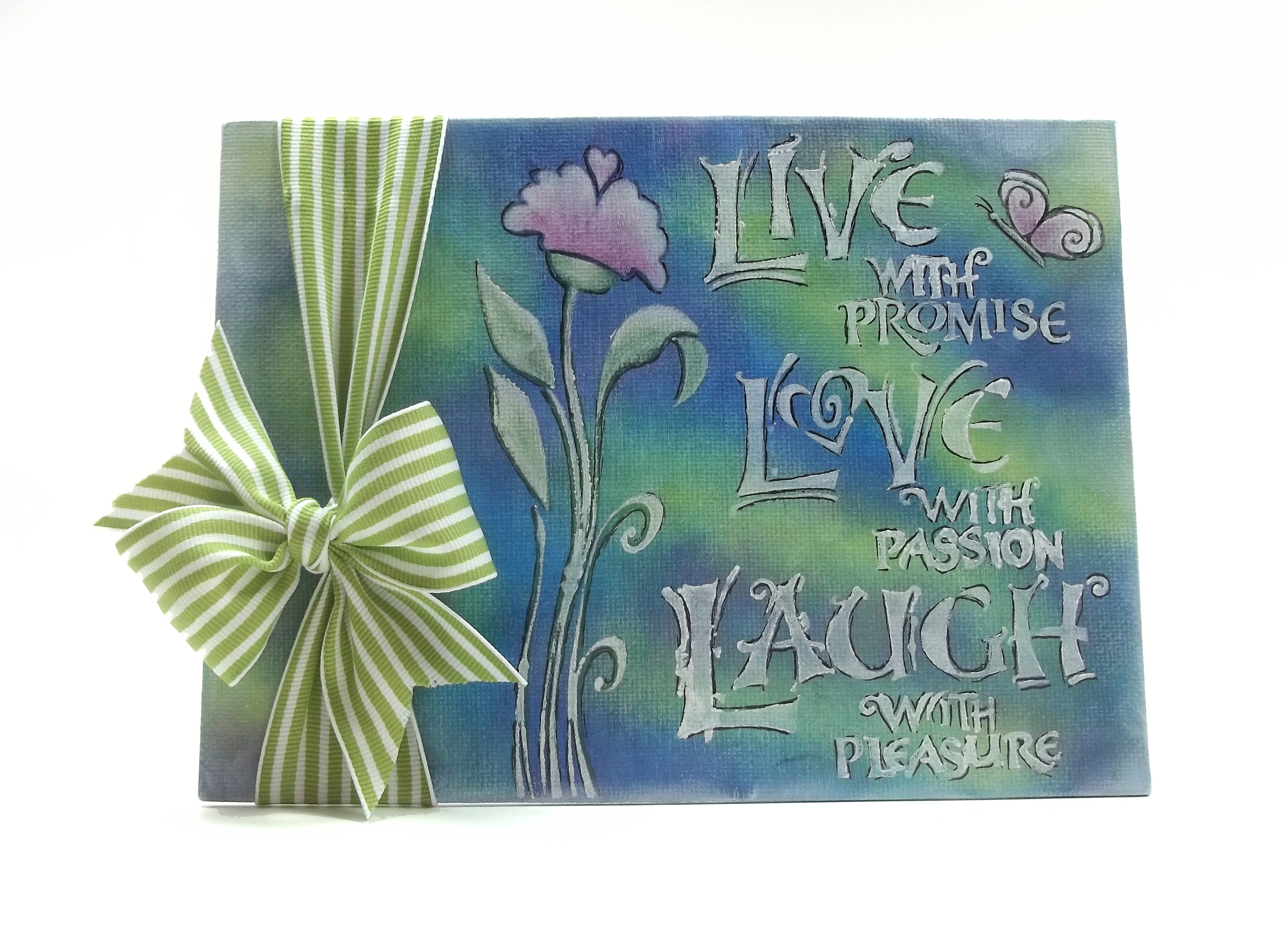 Memento Luxe for a Live, Love, Laugh Canvas