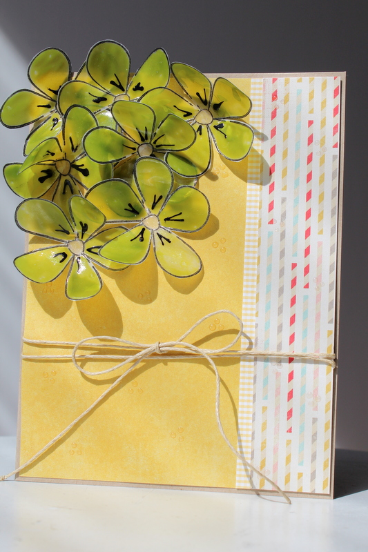 irRESISTible Pico 3D Vellum Flowers Greeting Card