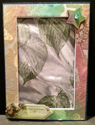 Friendship Photo Frame in Autumnal Colors