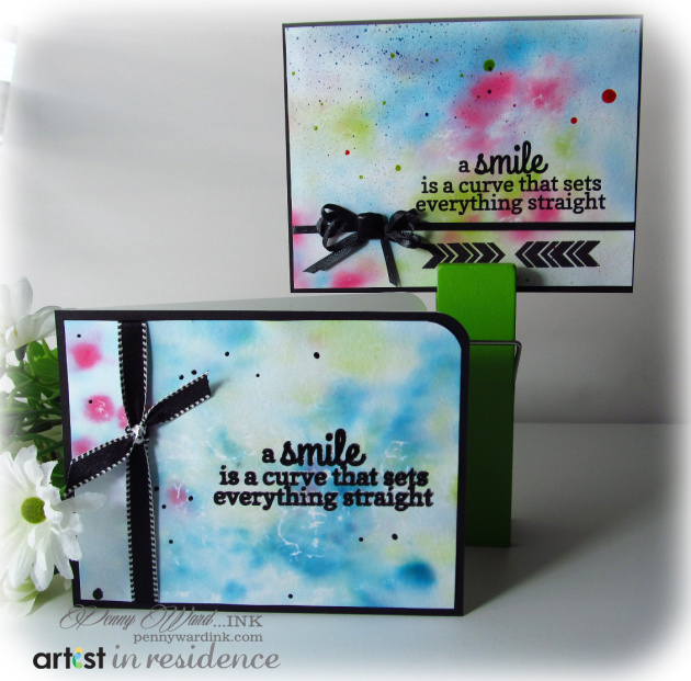 A Smile Is...Inkblended Greeting Card
