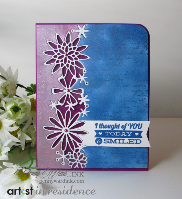 I Thought of You Today Card with Metallic Ink