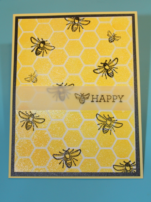 BEE Happy Bright Yellow Encouragement Cardcard making, paper craft, hand made cards, hand made, paper crafting, stamping, scrapbooking, card maker, paper crafts, cards, crafting, hobby, card making ideas, DIY, clear stamps, scrapbook,  greeting cards, scr