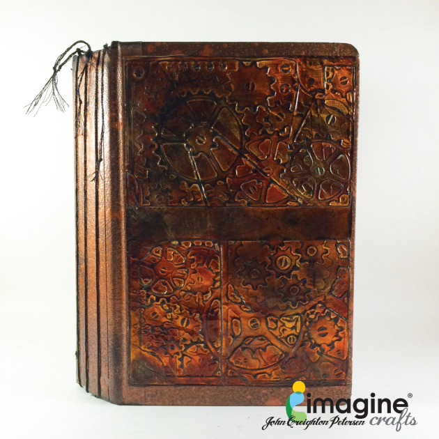 Upcycle a Book into a Journal with StazOn inks