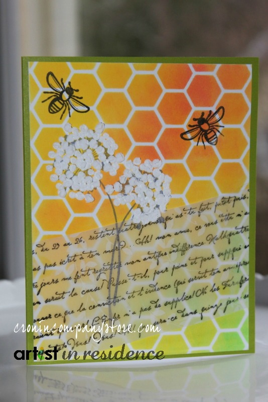 Amplify Dandelions Pop on this Spring Themed Card