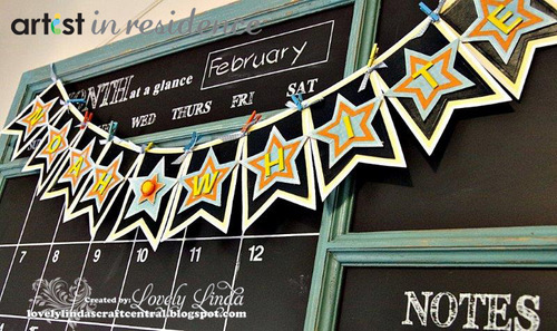irRESISTible Banner with Black Chalkboard Style Theme