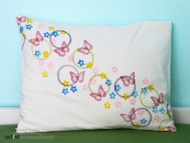 Create Your Own Butterfly Pillow Cover