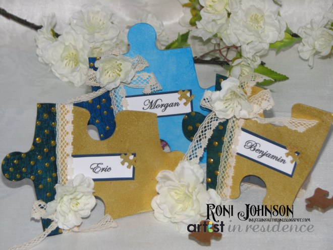 Two Become One - Wedding Place Cards