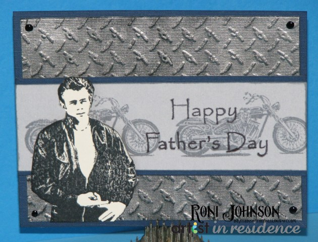 Cool Daddy-O James Dean Father's Day Card