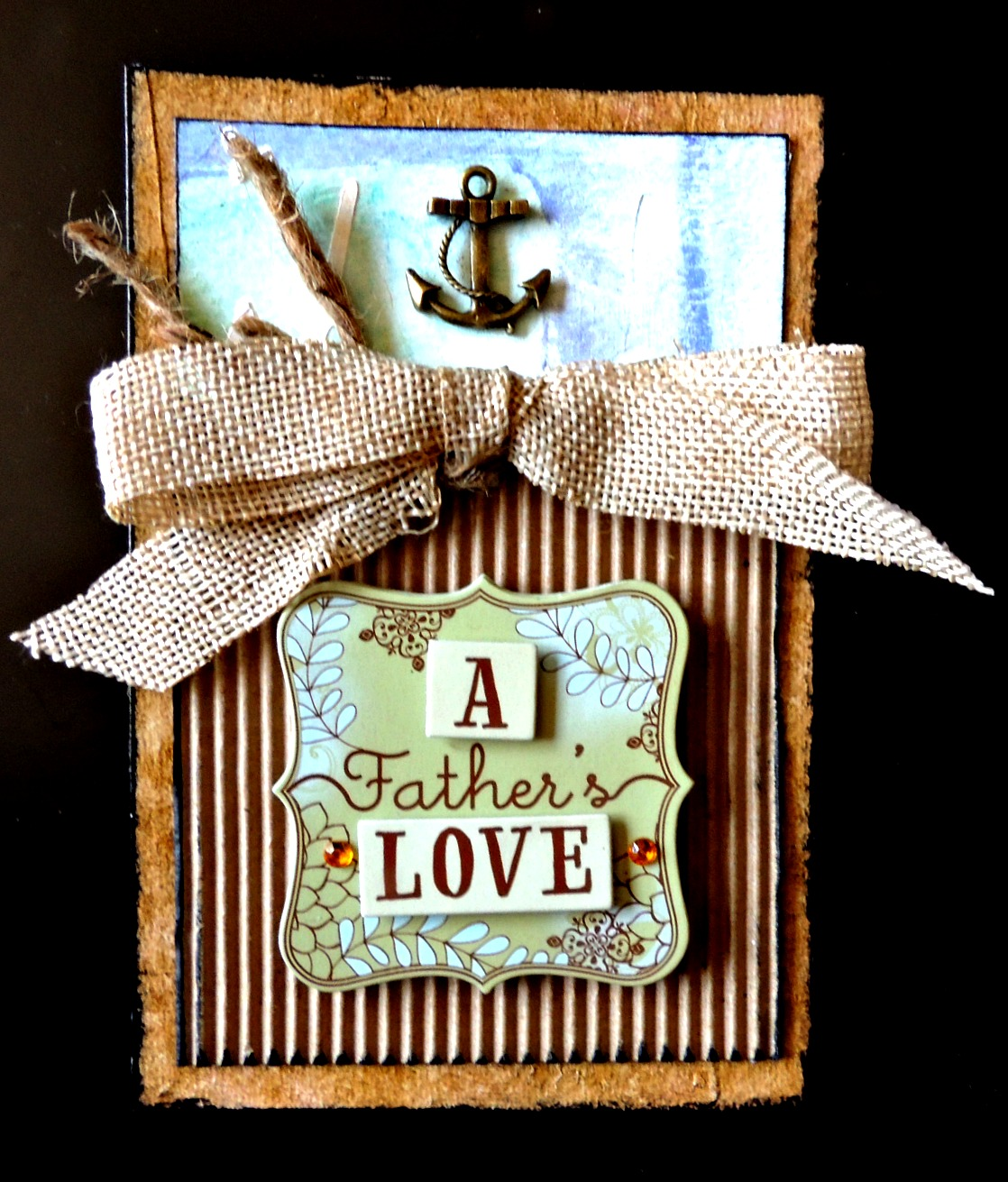 See this masculine card project with nautical theme