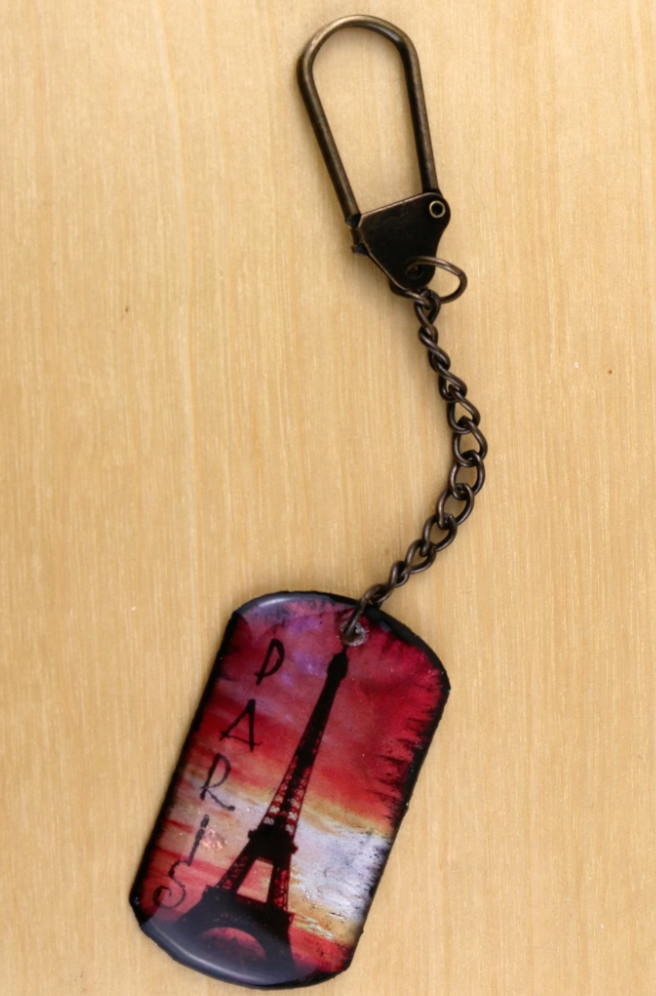 Parisian Key Fob