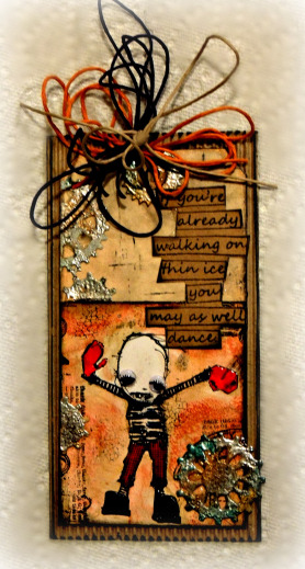 Always In Motion Steampunk Tag or Bookmark