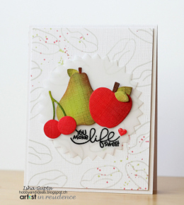 Memento Ink for a You Make Life Sweet Card