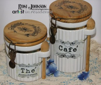 Canisters With A French Flair