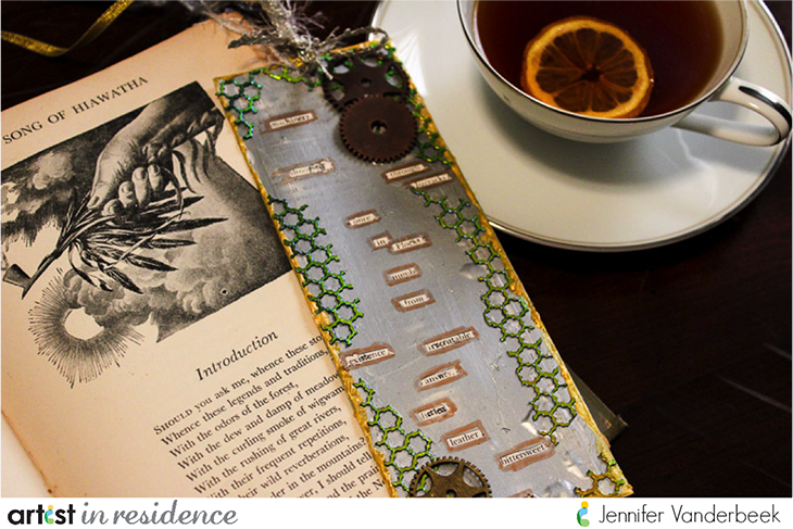 Found Poetry Bookmark