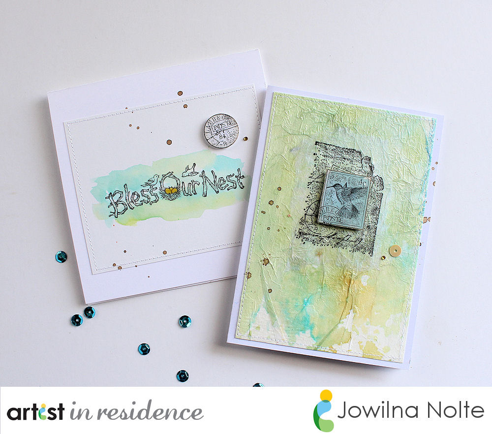 Bless Our Nest Textured Greeting Cards