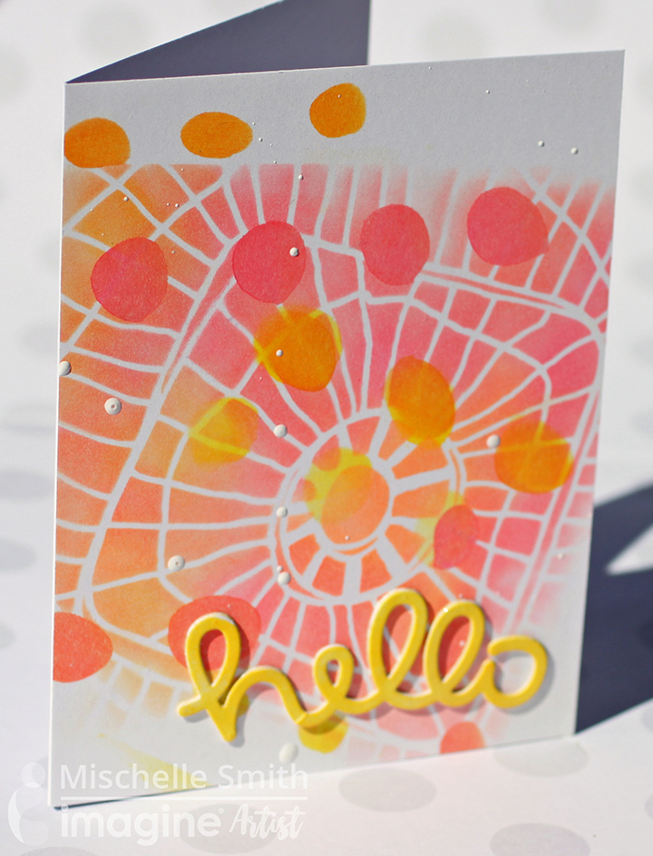 Electric Neon Hello Card