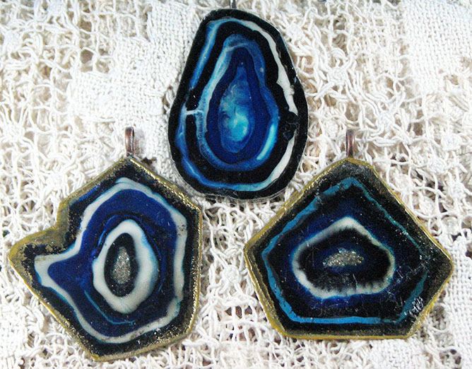 See How to Make Faux Agate