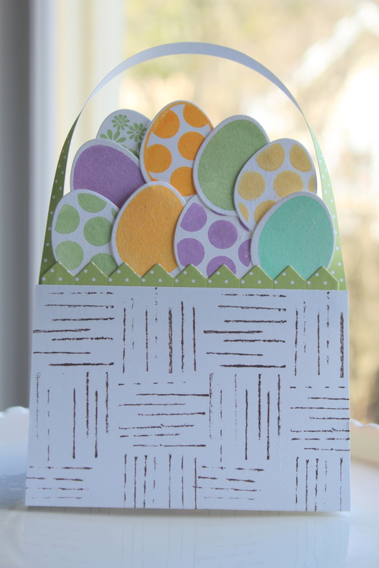 All Your Eggs in One Basket - Papercraft for Easter