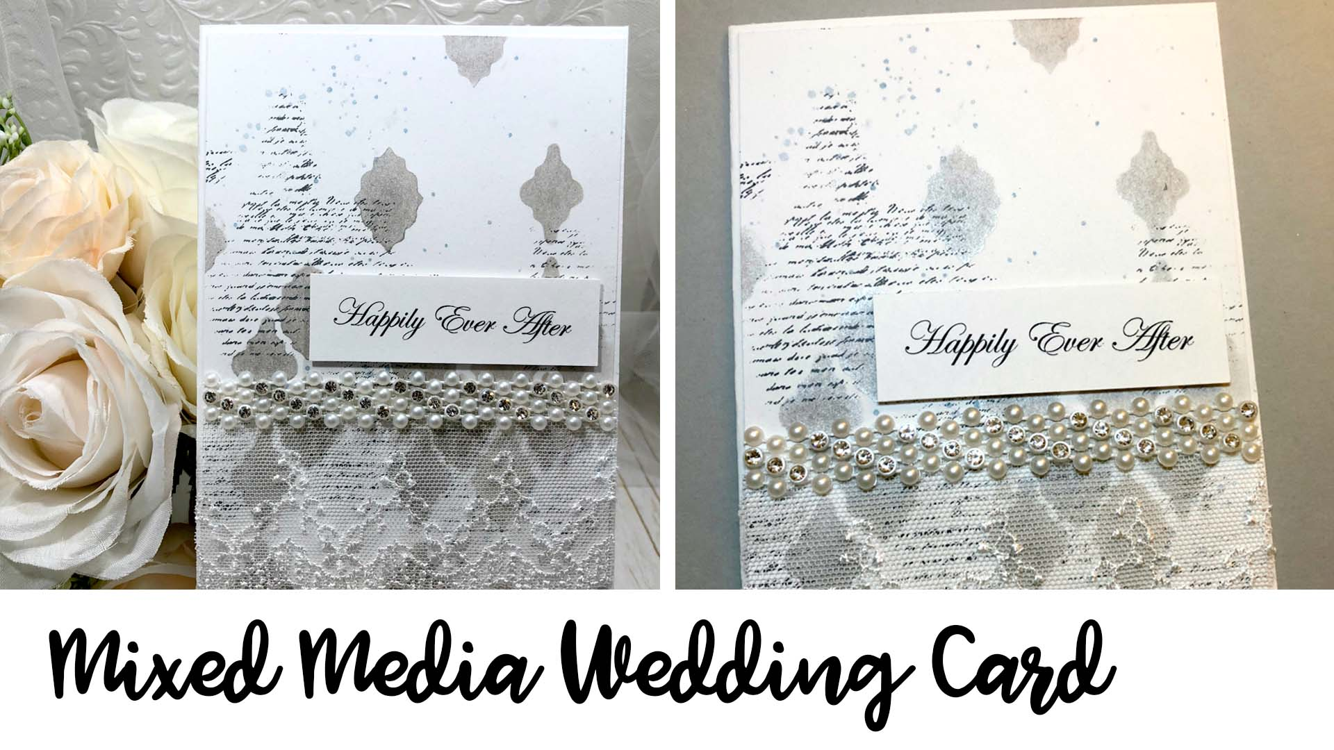 Handmade wedding invitations that are easy to make with an elegant pop of color.