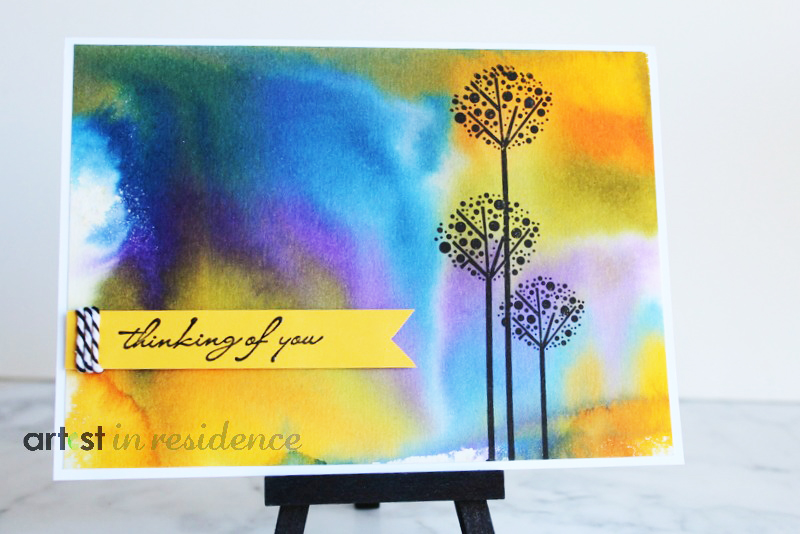 Kaleidacolor Thinking of You Card