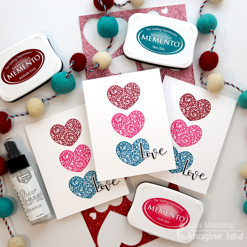 Memento to Create Quick and Simple Valentine's Day Card