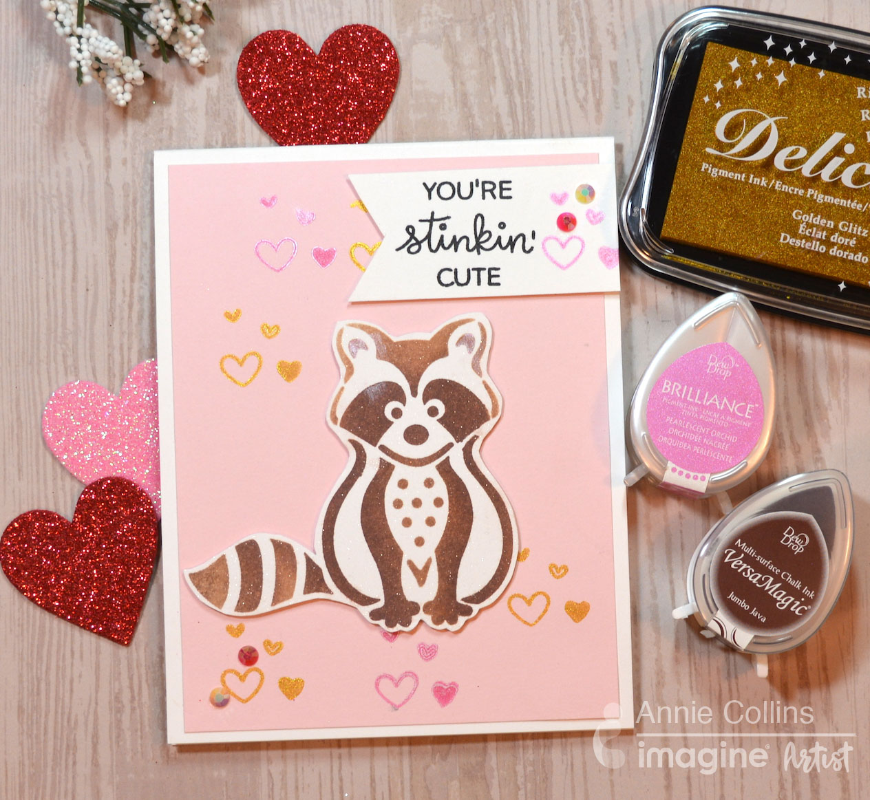 Quick & Easy Projects: You're Stinkin' Cute Valentine's Day Card