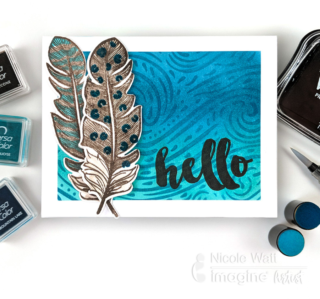 Beginner Guide: 5 Ways to use VersaColor Ink for Cardmaking