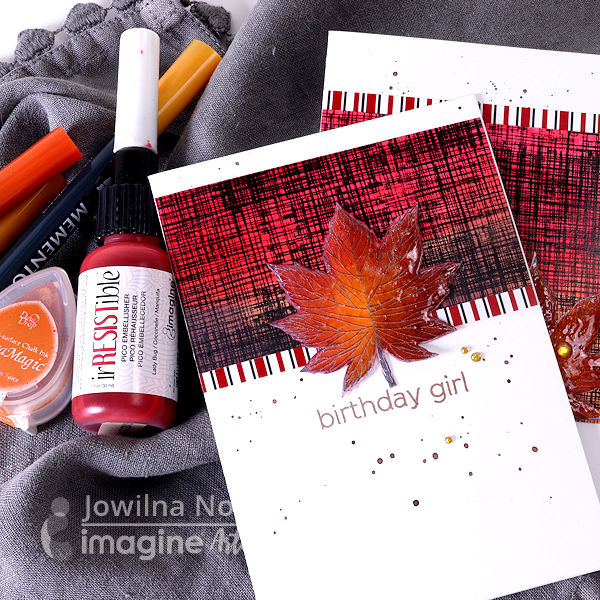 Create a fall themed Birthday Card!