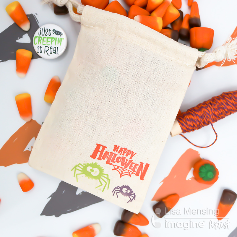 Beginner Guide: Learn How to Stamp on Treat Bags for DIY Halloween Project