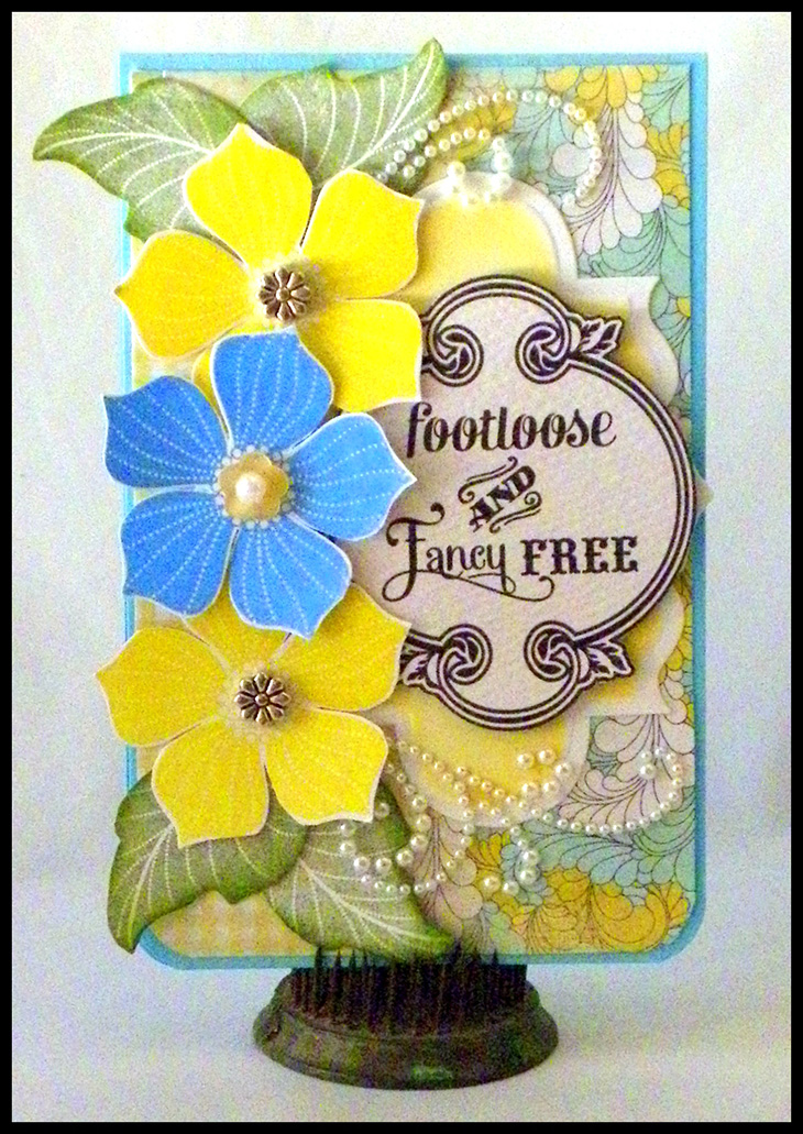 Footloose and Fancy Free Card
