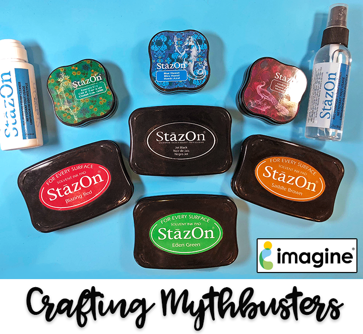 Mythbusting - StazOn Cleaner with Clear Stamps