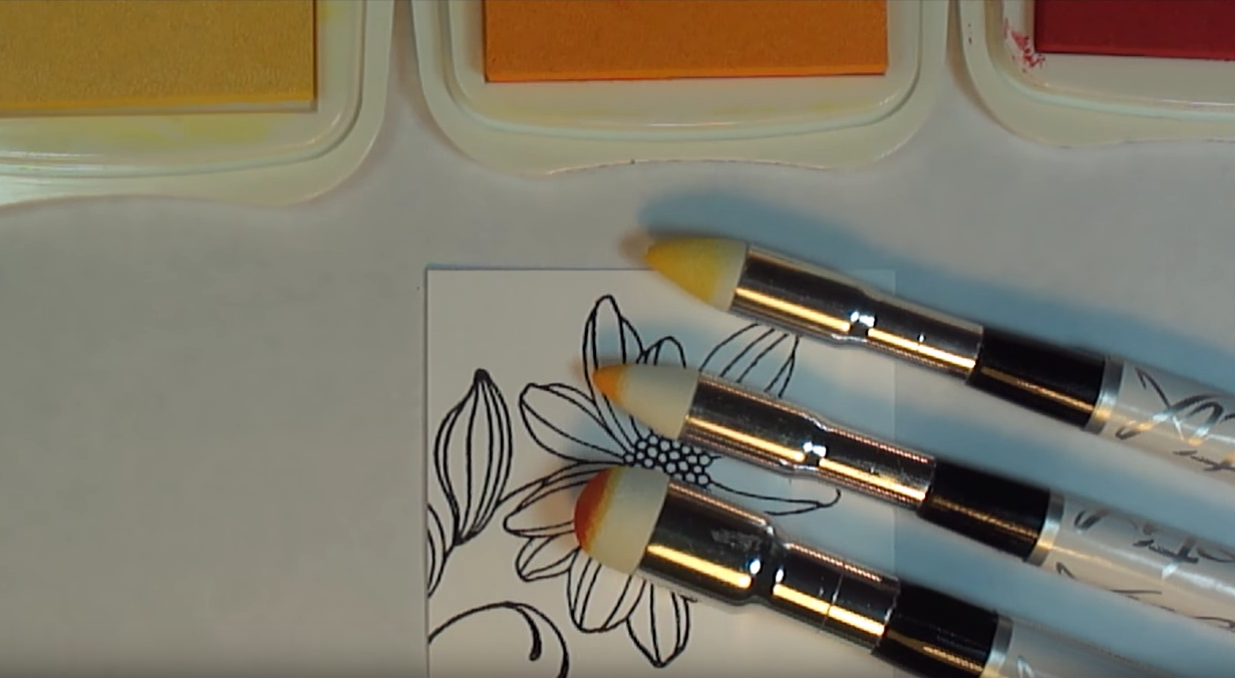 Coloring with Brushstix